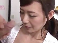 blowjob close-up fetish japanese jerking mammy milf panties really