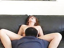 amateur ass blowjob creampie doggy-style first-time glasses homemade licking