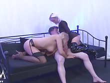 daughter gang-bang mammy milf