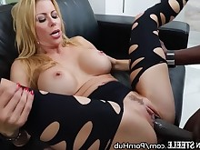 big-tits black blonde blowjob boobs brunette big-cock cumshot doggy-style