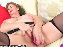 big-tits granny mature milf orgasm solo