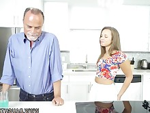ass babe blowjob brunette big-cock cumshot facials handjob hardcore