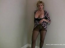 blowjob fetish milf nylon panties
