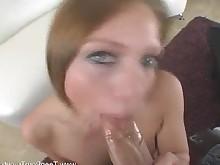 blonde blowjob brunette bus busty cumshot hardcore hot milf