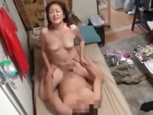 creampie cumshot japanese mammy milf squirting