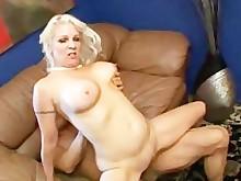 big-tits blonde blowjob cumshot doggy-style hardcore hot licking lingerie