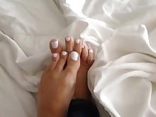 feet fetish foot-fetish mammy milf pov solo