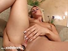blonde fingering masturbation milf pornstar funny