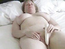 amateur big-tits cum dildo fatty homemade lingerie mammy masturbation