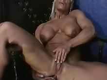 big-tits blonde boobs mammy masturbation milf