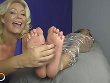 feet foot-fetish lesbian mammy milf