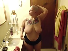 amateur dancing bbw fetish milf shaved smoking
