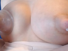 big-tits boobs brunette car fetish lactation mammy masturbation milf