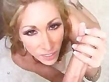 cumshot deepthroat hot mammy milf oral orgasm pov