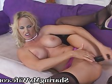 blonde fantasy fingering friends lingerie mammy masturbation milf toys
