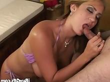 amateur big-tits blonde blowjob boobs big-cock cumshot facials girlfriend