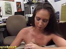amateur babe big-tits blowjob brunette bus busty cash big-cock