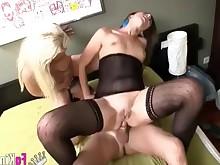 anal ass cumshot fuck mammy milf threesome