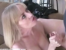 amateur anal ass blonde cougar creampie doggy-style double-penetration hardcore