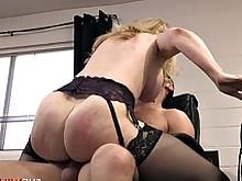 blonde blowjob cougar horny mature milf monster nasty seduced