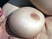big-tits brunette cumshot hot milf